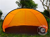 Strandtält, FlashTents®, 2 personer, Orange/Mörkgrå - 13