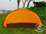 Strandtält, FlashTents®, 2 personer, Orange/Mörkgrå - 14