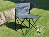 Camping chair, foldable, TentZing®, Grey, 2 pcs. - 1