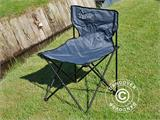 Camping chair, foldable, TentZing®, Grey, 2 pcs. - 3