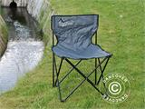 Camping chair, foldable, TentZing®, Grey, 2 pcs. - 4