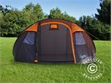 Camping tent pop-up, FlashTents®, 4 persons, Medium, Orange/Dark Grey - 4