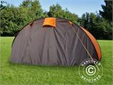 Camping tent pop-up, FlashTents®, 4 persons, Medium, Orange/Dark Grey - 9