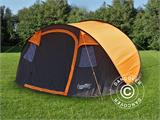Camping tent pop-up, FlashTents®, 4 persons, Medium, Orange/Dark Grey - 13