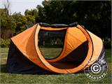 Campingtelt Pop-up, FlashTents®, 4 personer, Large, Orange/Mørkegrå - 9