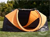 Campingtelt Pop-up, FlashTents®, 4 personer, Large, Orange/Mørkegrå - 11
