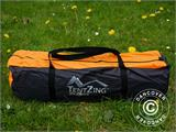 Camping tent, TentZing® Tunnel, 4 persons, Orange/Dark Grey  - 1