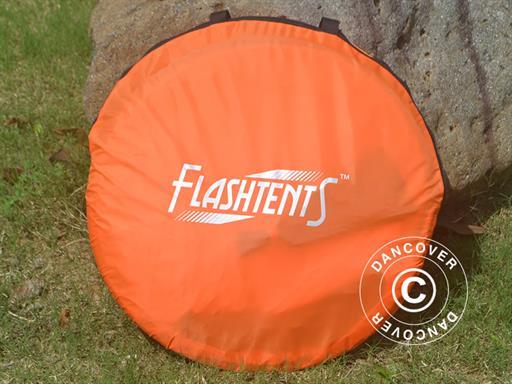Quick up tilskuertelt, FlashTents®, 1 person, Oransje