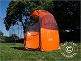 All Weather Pod/Football Mom pop-up tent, FlashTents®, 1 person, Orange/Dark grey - 8