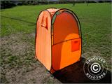 All Weather Pod/Football Mom pop-up tent, FlashTents®, 1 person, Orange/Dark grey - 12