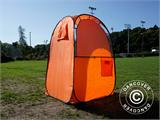 All Weather Pod/Football Mom pop-up tent, FlashTents®, 1 person, Orange/Dark grey - 13