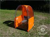 All Weather Pod/Football Mom pop-up tent, FlashTents®, 1 person, Orange/Dark grey - 15
