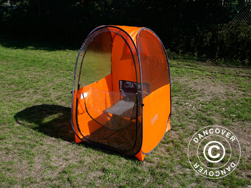 Fotbollsföräldrar tält pop up, FlashTents®, 1 person, Orange