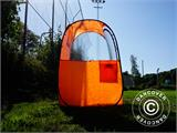 All Weather Pod/Football Mom pop-up tent, FlashTents®, 1 person, Orange/Dark grey - 22