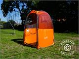 All Weather Pod/Football Mom pop-up tent, FlashTents®, 1 person, Orange/Dark grey - 23