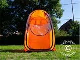 All Weather Pod/Football Mom pop-up tent, FlashTents®, 1 person, Orange/Dark grey - 24