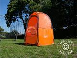 All Weather Pod/Football Mom pop-up tent, FlashTents®, 1 person, Orange/Dark grey - 26