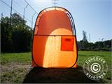 All Weather Pod/Football Mom pop-up tent, FlashTents®, 1 person, Orange/Dark grey - 27