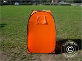 All Weather Pod/Football Mom pop-up tent, FlashTents®, 1 person, Orange/Dark grey - 29