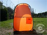 All Weather Pod/Football Mom pop-up tent, FlashTents®, 1 person, Orange/Dark grey - 30
