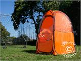 All Weather Pod/Football Mom pop-up tent, FlashTents®, 1 person, Orange/Dark grey - 31