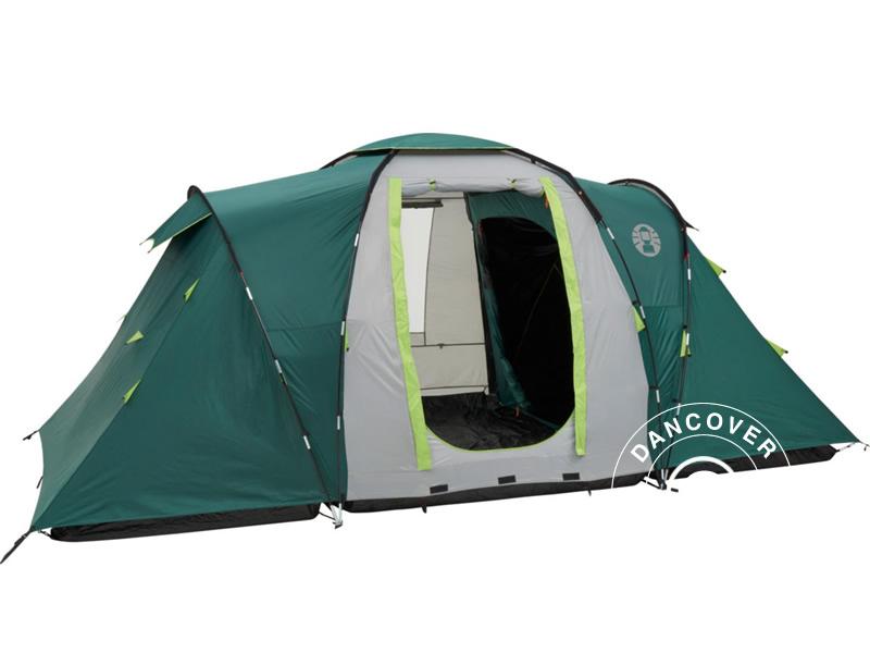 Campingtält, Coleman Spruce Falls 4, 4 personer, GrönGrå