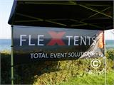 Banner impreso para carpa plegable FleXtents®, 4x1m - 1