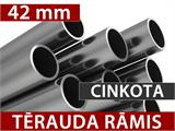 Pasākumu Telts Exclusive 6x12m PVC, Balts, Panorama - 6