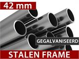 Pagodetent Exclusive 4x4m PVC, Wit - 6