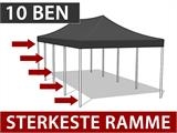 Quick-up telt FleXtents Steel 4x8m Hvit, inkl. 4 sider - 1