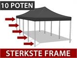 Vouwtent/Easy up tent FleXtents Steel 4x8m Wit, inkl. 4 Zijwanden - 7