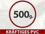"Partyzelt Exclusive 6x12m PVC, ""Arched"", Weiß - 10"
