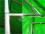 Arched Storage tent 9.15x12x4.5 m, PVC Green - 8