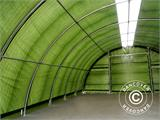 Arched storage tent 9.15x12x4.5 m PE, w/ skylight, Green - 28