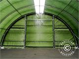 Arched storage tent 9.15x12x4.5 m PE, w/ skylight, Green - 29