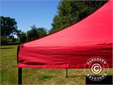 Vouwtent/Easy up tent FleXtents Basic v.2, 2x2m Rood - 12