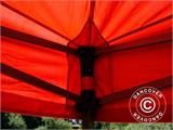 Vouwtent/Easy up tent FleXtents Basic v.2, 2x2m Rood - 16