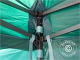 Pop up gazebo FleXtents Basic v.2, 4x4 m Green, incl. 4 sidewalls - 20