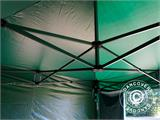 Pop up gazebo FleXtents Basic v.2, 4x4 m Green, incl. 4 sidewalls - 21