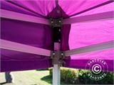 Carpa plegable FleXtents Xtreme 50 3x6m Morado - 19