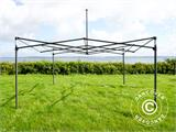Tenda Dobrável FleXtents Steel 4x4m Branco, incl. 4 paredes laterais - 24