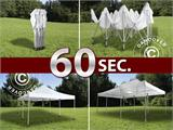 Pop up gazebo FleXtents PRO 6x6 m White - 11