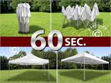 Vouwtent/Easy up tent FleXtents PRO 4x8m Latte - 11