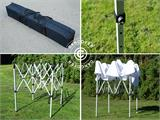 Snabbtält FleXtents Basic v.2, 2x2m Vit - 9
