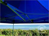 Pop up gazebo FleXtents Xtreme 60 4x4 m Blue, incl. 4 sidewalls - 18