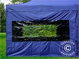 Pop up gazebo FleXtents Xtreme 50 3x6 m Dark blue, incl. 6 sidewalls - 20