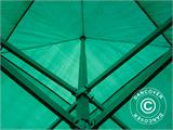 Pop up gazebo FleXtents PRO 4x4 m Green, incl. 4 sidewalls - 35