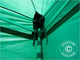 Pop up gazebo FleXtents PRO 4x4 m Green, incl. 4 sidewalls - 36
