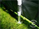 Pop up gazebo FleXtents PRO 4x6 m Grey, incl. 8 sidewalls - 13