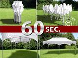 "Quick-up telt FleXtents PRO ""Arched"" 3x6m Hvit, inkl. 6 sider - 10"